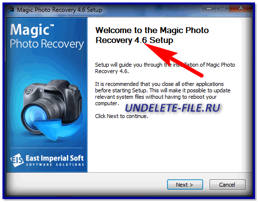 Magic Photo Recovery 4.6 RUS + ключик