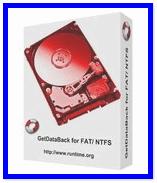 GetDataBack для NTFS и FAT систем