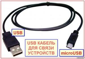Перекинуть фотки с фотоаппарата или телефона с помощью USB кабеля