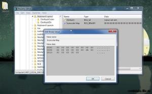 простое отключение клавишы caps lock