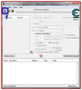Иконка с компьютером для перехода в настройки