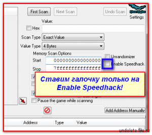 Enable Speedhack