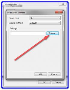 Выбор файлов и директорий для удаления