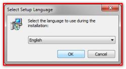 Выбор языка для установки