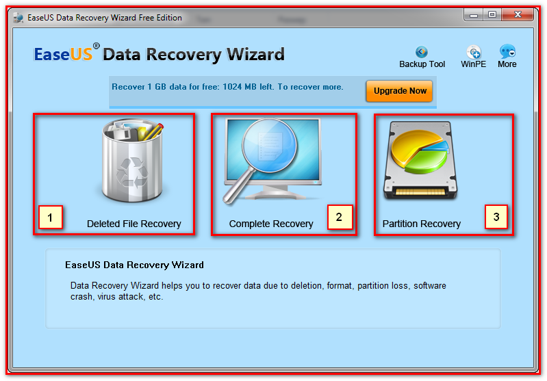 Программу для восстановления стертых данных с жесткого диска