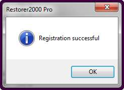 Restorer2000 активирована
