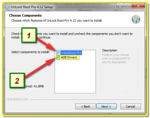 Установка Unlock Root Pro и драйверов на ПК