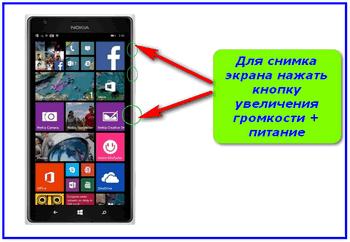 The screenshot on Windows Phone