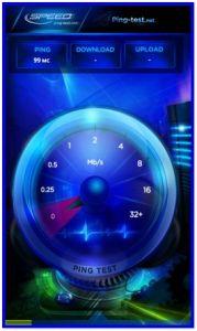 Тестирование скорости сети