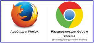 Плагин или расширение для браузера