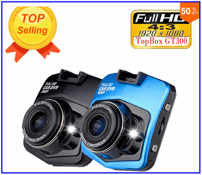 DVR GT300 Dashcam 1920 x 1080 Full HD