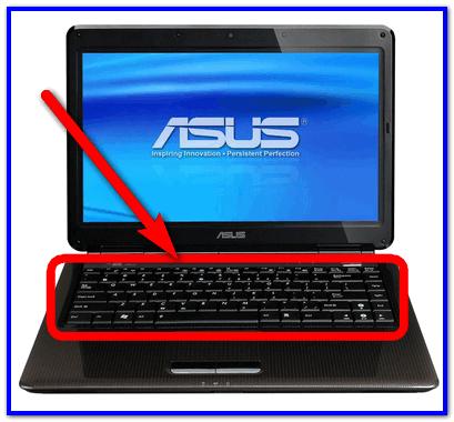 Клавиатура ноутбуков Asus