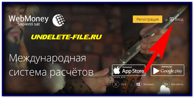 Webmoney site