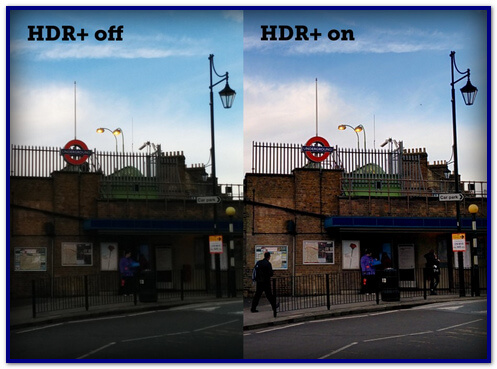 Comparison of the usual hrd and hdr +