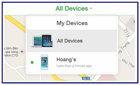 Функция поиска iphone