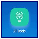 Alitools app on Android