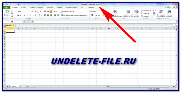 Activated Excel 2010