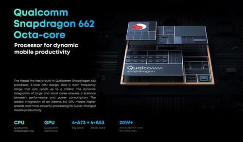 Chuwi HiPad Pro оснащен SoC Qualcomm Snapdragon 662